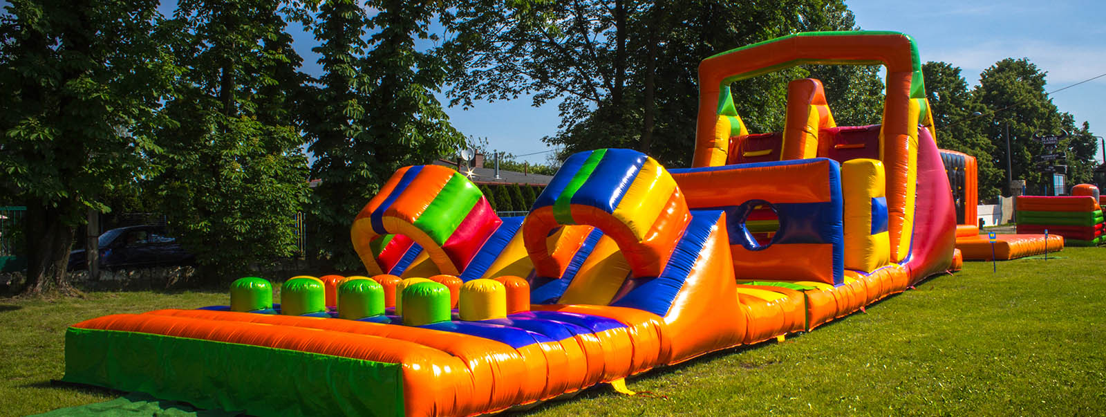 Albuquerque Inflatable Obstance Course Rental