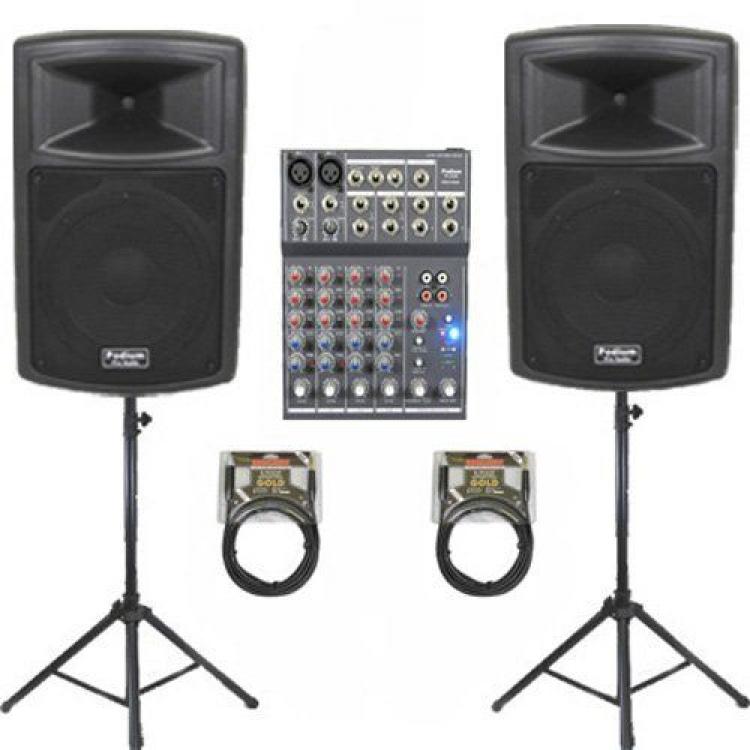 DJ Setup with Mic