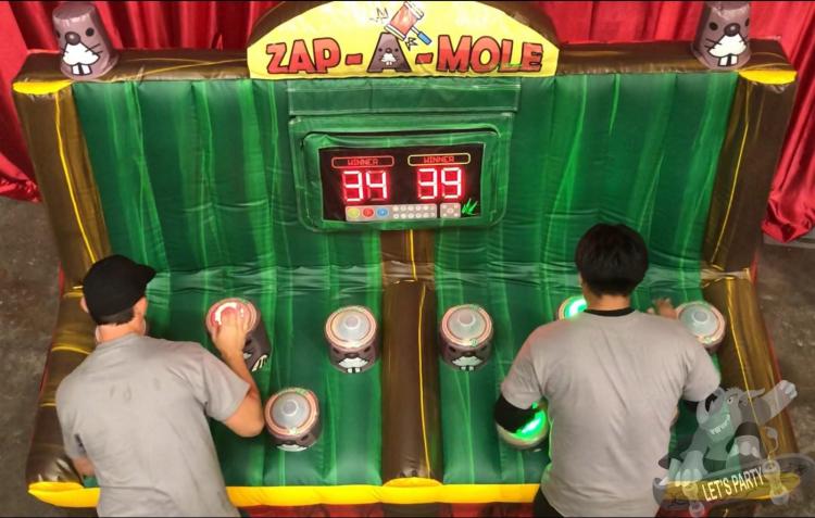 Zap A Mole Game