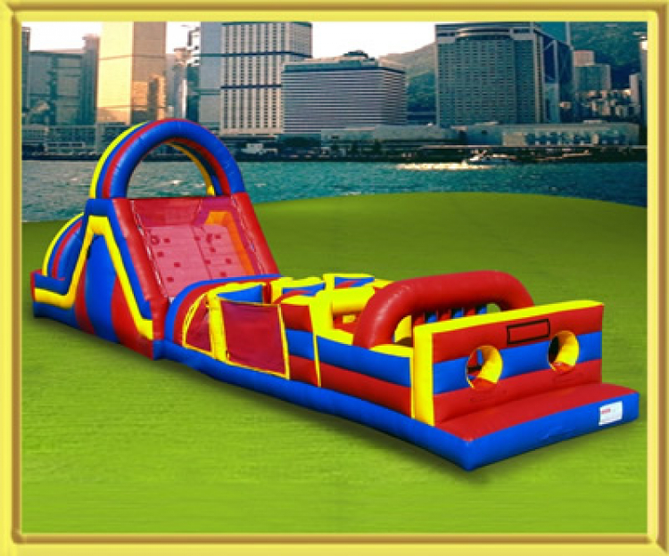 70' Mega Obstacle Course