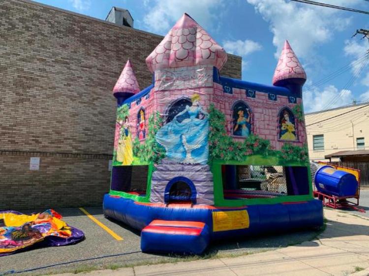 Disney Princess Castle Bounce